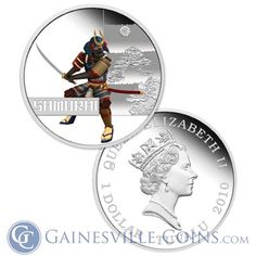 Great Warriors, Gold And Silver Coins, Mint Coins, Proof Coins, Halloween Horror, 1 Oz, Perth, Really Cool Stuff, Samurai