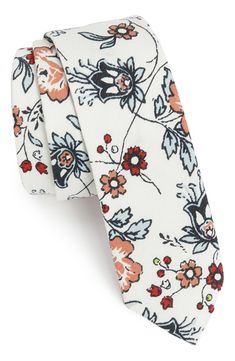 I like it. Sue me ;). Original Penguin 'Ayden Floral' Woven Cotton Tie. Nordstrom.