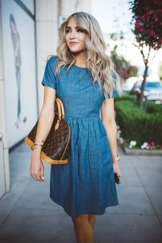 CARA LOREN: A Denim Dress Thing with Mindy Mae's Market