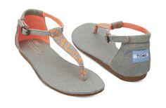 Neon Denim Women's Playa Sandals