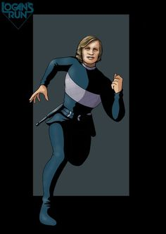 Logan's Run - Logan 5 by *nightwing1975 on deviantART - I love this guy's work.  It is clean and stylistically simple