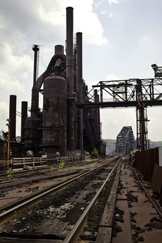 Wheeling-Pittsburgh Steel, Steubenville, Ohio.