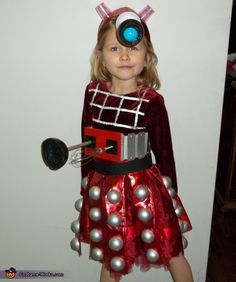 Char: Zandria 6 (left) is a Dalek and Kenzie 8 (right) is the tenth doctor. I was working on other doctor who crafts when my daughters picked Doctor Who theme.I was...