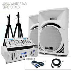 Equipo PA Nordstern Deluxe  de la serie White Star 2000W: Haz click para agrandar la imagen