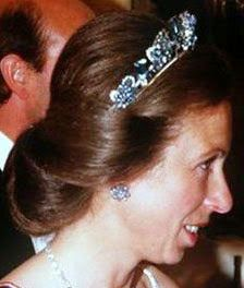 Tiara Mania: Queen Elizabeth of the United Kingdom's Aquamarine Pine Flower Tiara