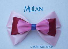 mulan hair bow by abowtiqueshop on Etsy, $6.50