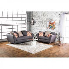 Belfield Gray Sofa - Yes! Furniture