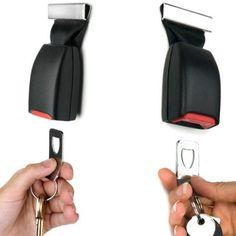 He won't lose his keys again! Amazon.com: Buckle Up Seat Belt  $24.99