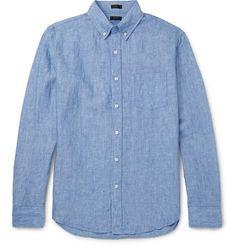 J.CREW Delave Button-Down Collar Linen Shirt. #j.crew #cloth #casual shirts
