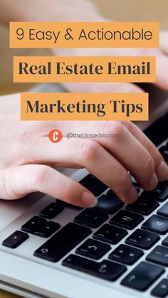 Real Estate Marketing, Email Marketing, Selling Real Estate, Tips, Easy, Counseling