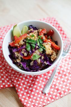 Red Cabbage Stir Fry by abeautifiulmess #Stir_Fry #Veggie #Healthy