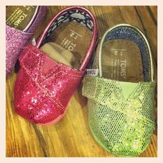 Glitter tiny @TOMS - so cute for spring! In store now. #blissboutiques