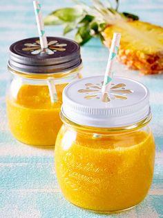 Ein richtiger Fitmacher unser #Smoothie mit #Mango und #Ananas