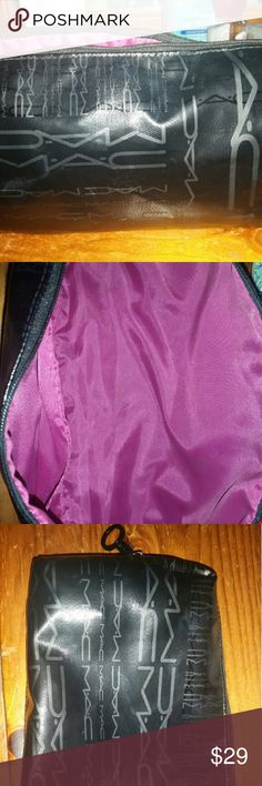 Mac makeup bag Black large MAC cosmetics bag MAC Cosmetics Makeup Brushes & Tools