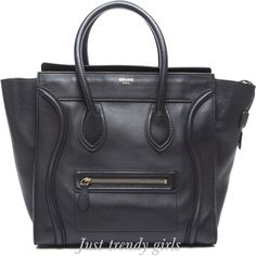 Celine tote bags color black- http://www.justtrendygirls.com/celine-tote-bags/