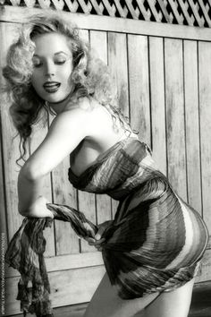 Betty Brosmer was the highest paid pin-up girl in the United States in the 1950s but she was never photographed in Bury St. Edmunds, Suffolk www.EricYoungPhotography.co.uk