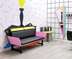 Interior design 80's boutique
