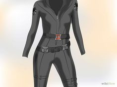 Dress Like Marvel's Black Widow (Natasha Romanov) - wikiHow