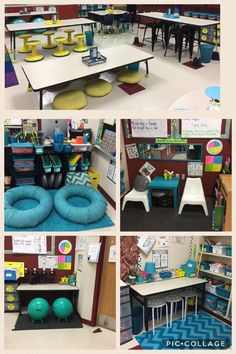 Flexible Seating Collage