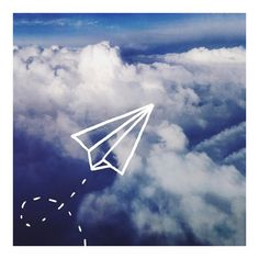Leah Flores Paper Plane ($15) ❤ liked on Polyvore featuring pictures, backgrounds, photos, icons and filler