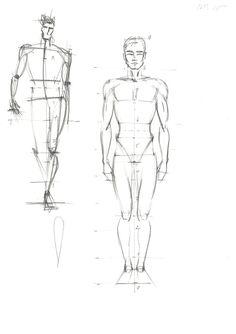 Fashion sketch by Olga Sorokina Drawing Fashion Illustration Illustrator Vogue Sketch Men Man Figure