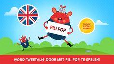 Engels leren met Pili Pop English: Talen leren voor kinderen. van Pili Pop Labs
