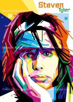 Steven tyler by on deviantART♥🌸♥ Arte Pop, Rock Posters, Concert Posters, Pop Art Dibujos, Graffiti Pictures, Steven Tyler Aerosmith, Pop Art Portraits, Photoshop, Cultura Pop