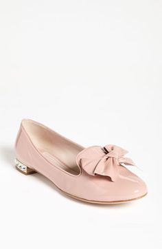 Miu Miu Smoking Slipper available at Nordstrom -- Call 512-691-3500 x 1395 to order your pair!  Comes in multiple colors!