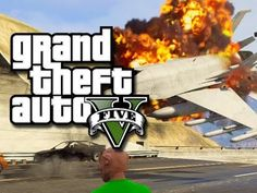 Flying jets through tunnels in GTA 5.