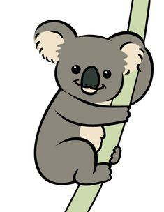 Vector Koala by wolfypuppy