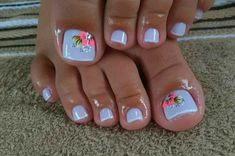 50 + cute toenails art for the summer - Page 31 of 50 - LoveIn Home - - 50 + cute toenails art for the summer – Page 31 of 50 – LoveIn Home Pretty Nails Zehennägel, Fußkunst, Zehennageldesign, sommerliche Zehennagelideen. Pretty Toe Nails, Cute Toe Nails, Fancy Nails, My Nails, Trendy Nails, Gel Toe Nails, Gel Toes, Toe Nail Polish, Acrylic Toe Nails