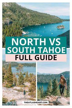 Lake Tahoe Beach, Lake Tahoe Summer, Lake Tahoe Vacation, Vacation Spots, Vacation Ideas, California Travel, Northern California, Best Weekend Trips, Tahoe City