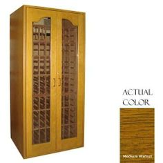 Vinotemp Vino-sonoma250-mdwa Sonoma 250 Bottle Wine Cellar - Glass Door / Medium Walnut Cabinet by Vinotemp. $4459.00. Vinotemp VINO-SONOMA250-MDWA Sonoma 250 Bottle Wine Cellar - Glass Door / Medium Walnut Cabinet. VINO-SONOMA250-MDWA. Wine Cellars. Premium wood and contemporary styling evoke a timeless appearance for our Sonoma Series Wine Cellars. With a storage capacity of up to 272 bottles, this model features all-wood Redwood racking. An arched window on the d...