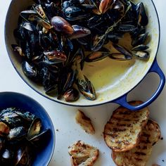 Mussels with Saffron and Citrus  | Food & Wine