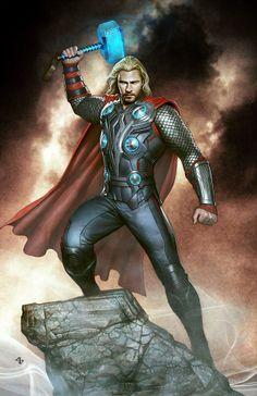 Thor by Adi Granov *
