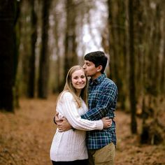 Crystal + Ben Photography. Sarah & Tony, A Wolf River Greenway Fall Engagement Session. Memphis TN  www.crystalandbenphotography.com