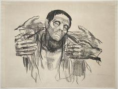 Käthe Kollwitz - 'Helft Russland' 1921