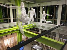 Nike Soho NYC - 3d printed mannequins