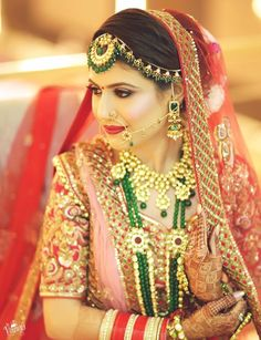 10 nath designs that will give you a complete and traditional bridal look! Bridal Poses, Bridal Photoshoot, New Instagram Logo, Dulhan Dress, Punjabi Bride, Bride Portrait, Bollywood Actress Hot Photos, Edgy Look, Bridal Photography