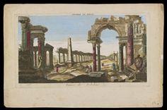 """Ruines de Babilone,"" artist and date unknown"