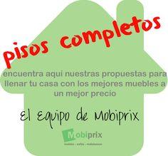 Conjunto Pisos Completos. Ofertas para hacertelo mucho mas fácil. Mobiprix. Proposals, Flats