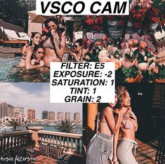 camera effects,photo filters,camera settings,photo editing Vsco Filters Summer, Best Vsco Filters, Photography Filters, Photography Editing, Photography Blogs, Photography Studios, Photography Lighting, Photography Workshops, Iphone Photography