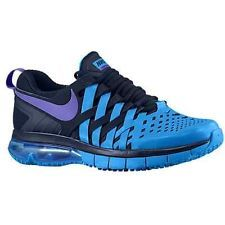 brand new dd143 7bfc5 Nike Air Max 5.0 Fingertrap Training Obsidian Photo Blue Grape Running Mens  M Nike Free Shoes