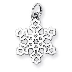 James Avery Charms SNOWFLAKES are  so beautiful and they are a natural BLING during some cold winter holidays.