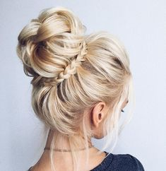 #updos #hairstyle #blonde