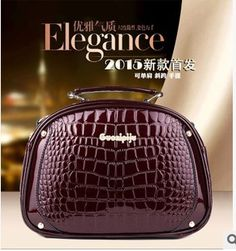 48235c0267f7 Find More Crossbody Bags Information about 2015 new European and American  fashion leather bag crocodile Shoulder