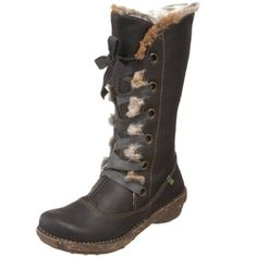 El Naturalista Inuit Boot: literally THE most comfortable footwear I've EVER had on my feet. I LIVE in these during winter months. I highly recommend this brand...though very pricey. I got mine at a discount outlet.