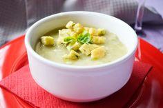 Die #Kohlsprossensuppe ist ein herrliches Gericht an kalten Wintertagen. Dieses Rezept stammt von Omas Kochbuch.