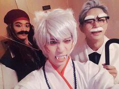 (151029) @realjonghyun90: jack sparrow inuyasha kfc grandpa. (source: bysagyehan)