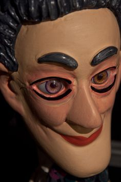 Antique hand puppet - Michael Early